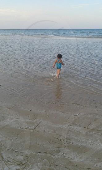 #sea #girl #summer #swimming #sky photo