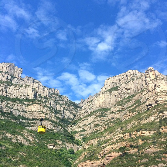 Spain Spanish culture travel Barcelona barca adventure Montserrat incredible rocks mountains  photo