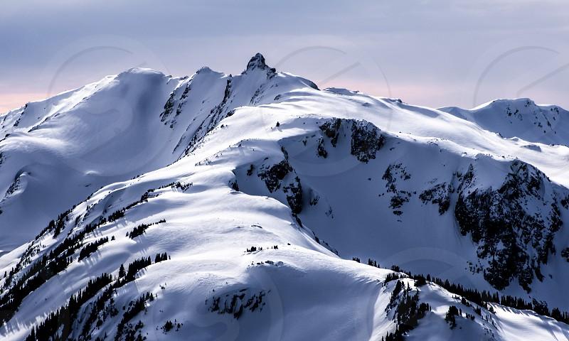 Blackcomb Peak Whistler BC photo