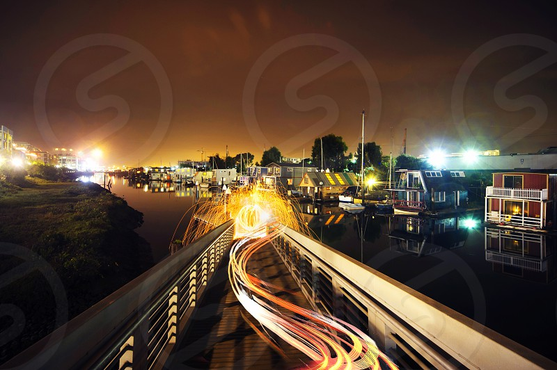 long exposure photography photo