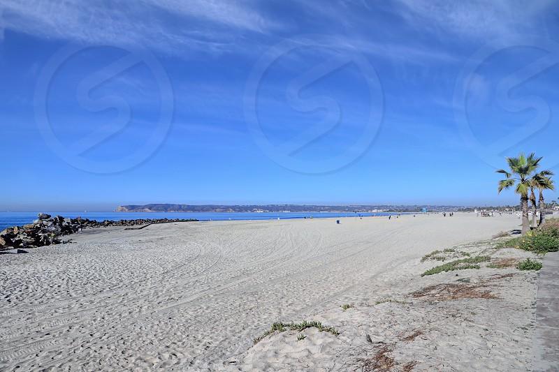 Coronado Beach just outside of San Diego California. photo