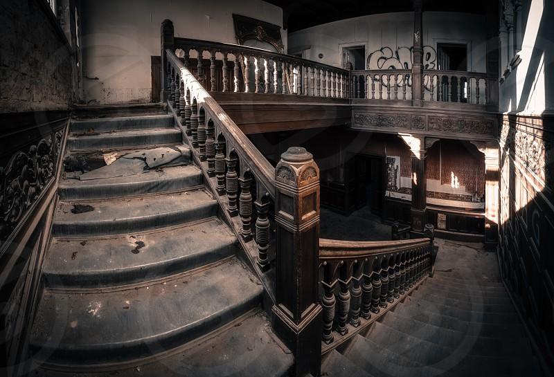 black staircase photo
