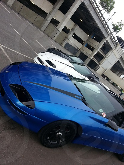 fbody Gathering 2013. blue Camaro is ours. photo
