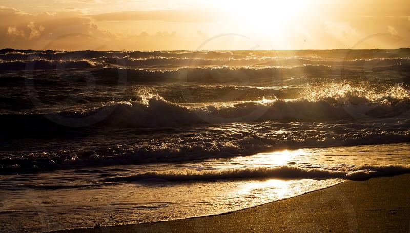 November Sunrise Sunrise at Juno Beach photo