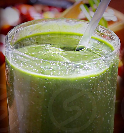 Love... life ...in the essence of green smoothie ...just for you^^ photo