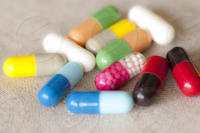 Various capsules photo