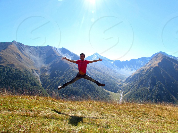 Jumping hike! photo