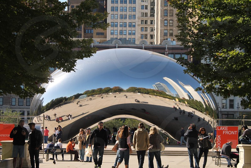 Travel Chicago Bean sight seeing photo