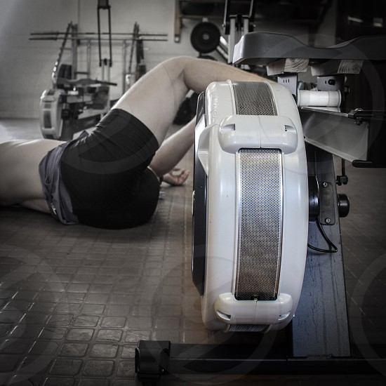 Post rowing fitness testing photo