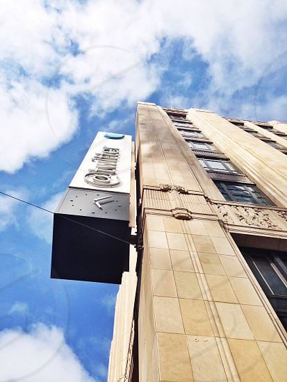 brown twitter building photo