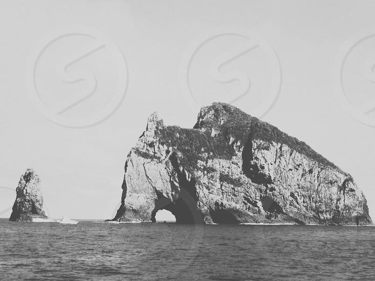 Hole in the Rock— Motu Kōkako New Zealand photo