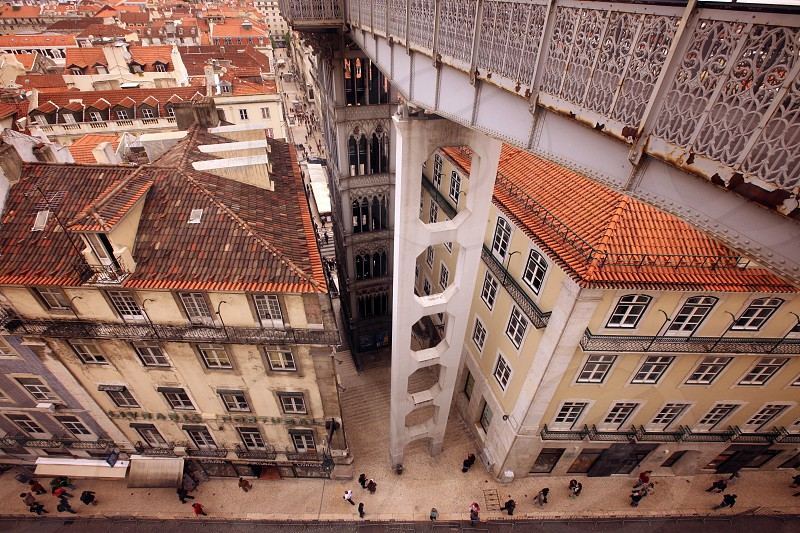 the city centre of Baixa in the city centre of Lisbon in Portugal in Europe. photo