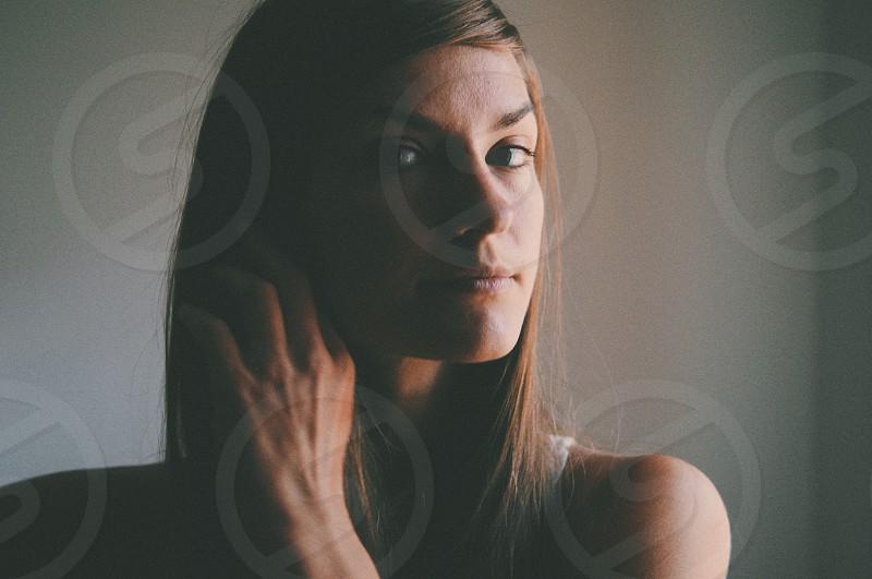 Natural light portrait photo