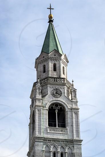 SS Philip and Jacob Parish Church in Cortina d'Ampezzo photo