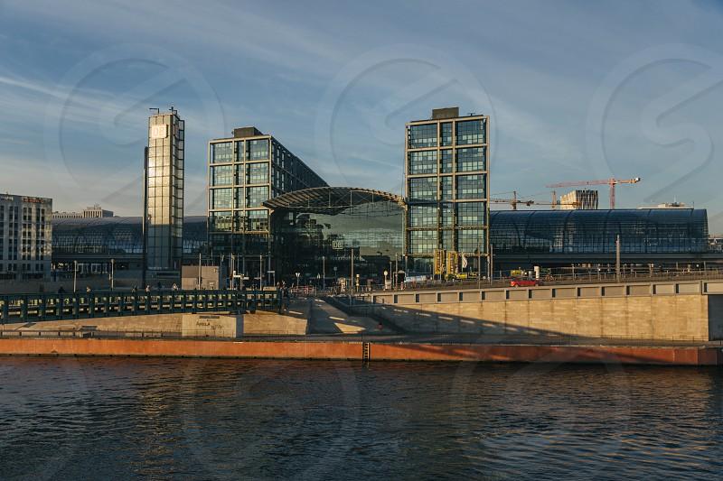 Berlin Hauptbahnhof Exterior shot photo