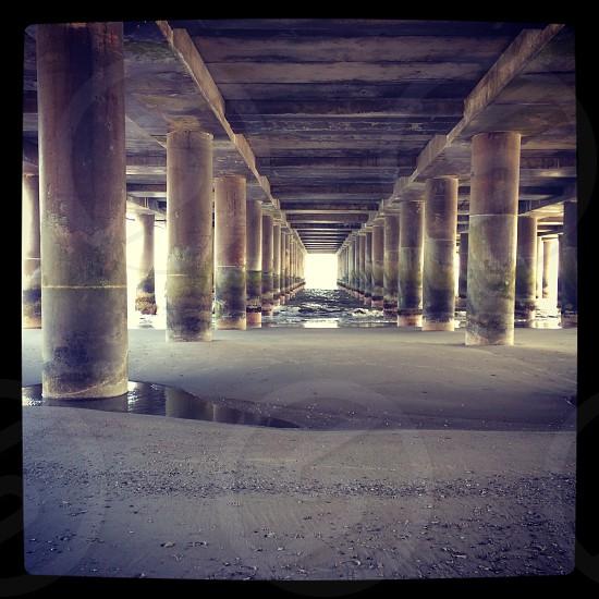 Under the Steel Pier in Atlantic City. photo