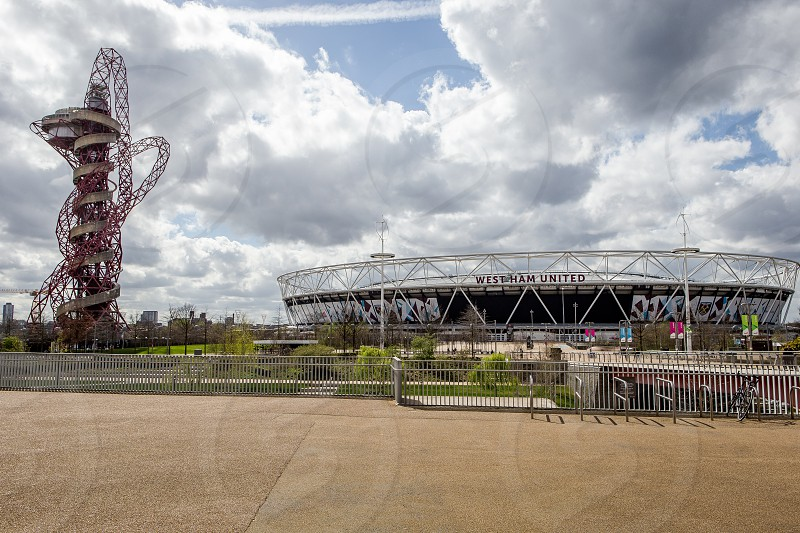 Orbital and Athletics Stadium Olympic Park Stratford London photo