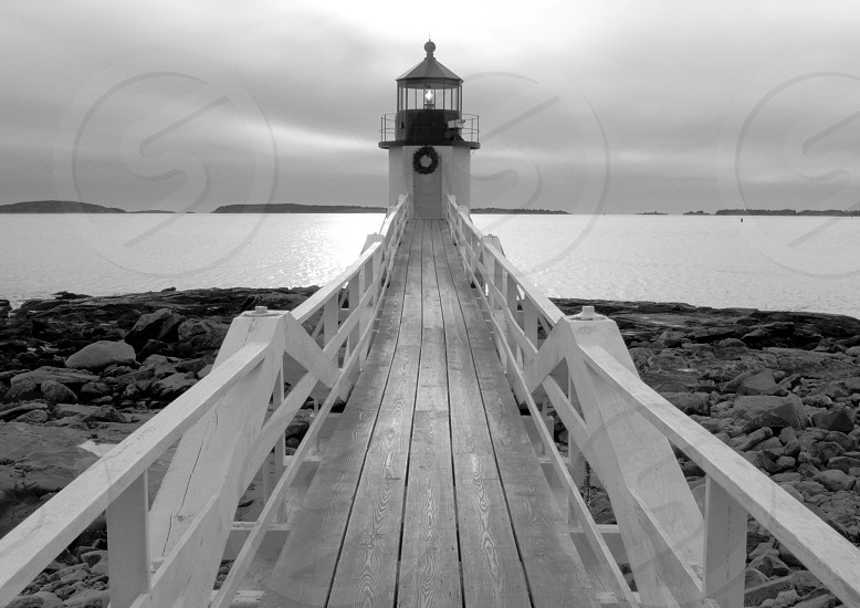 Marshall Point Black & White photo