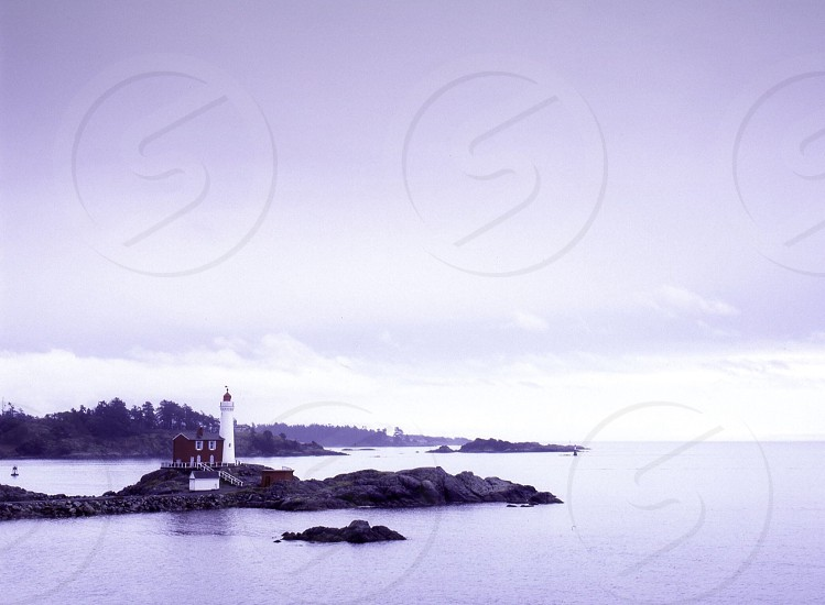 Pacific Northwest lighthouse  photo