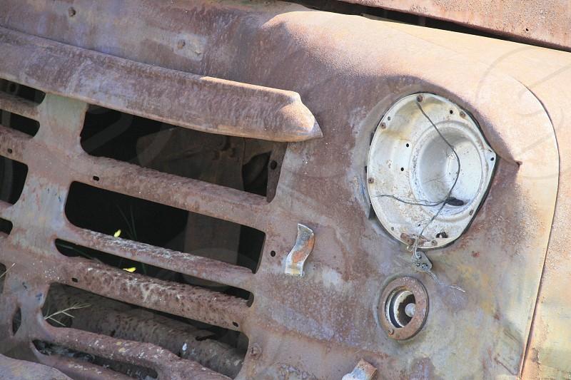 Rusty Old Truck photo