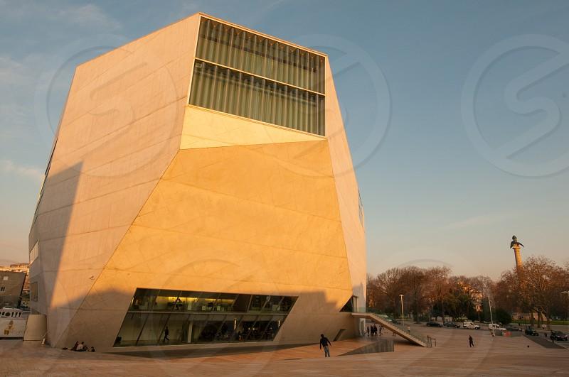 Casa da Música modern architecture in Porto Portugal photo