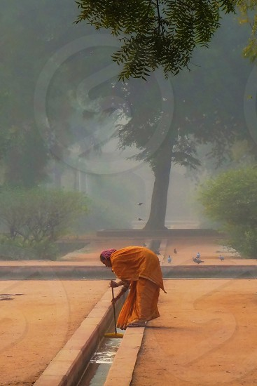 India Sweeping India Morning photo