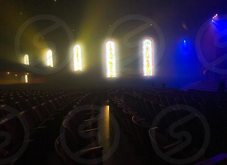 theater interior photo