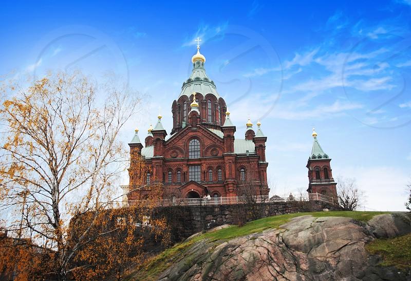 Uspenski Orthodox Cathedral Helsinki Finland photo