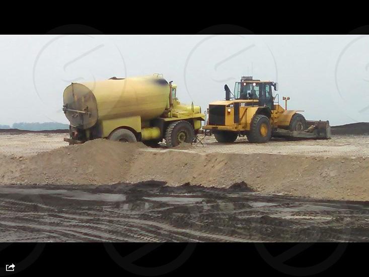 Heavy equipment mining photo