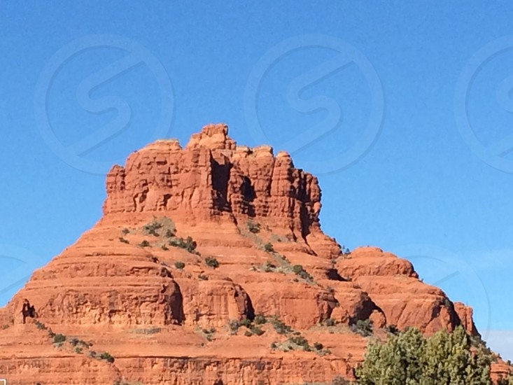 Desert Red Rocks Southwest Lanscape photo