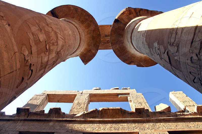 Luxor Temple Luxor Egypt photo