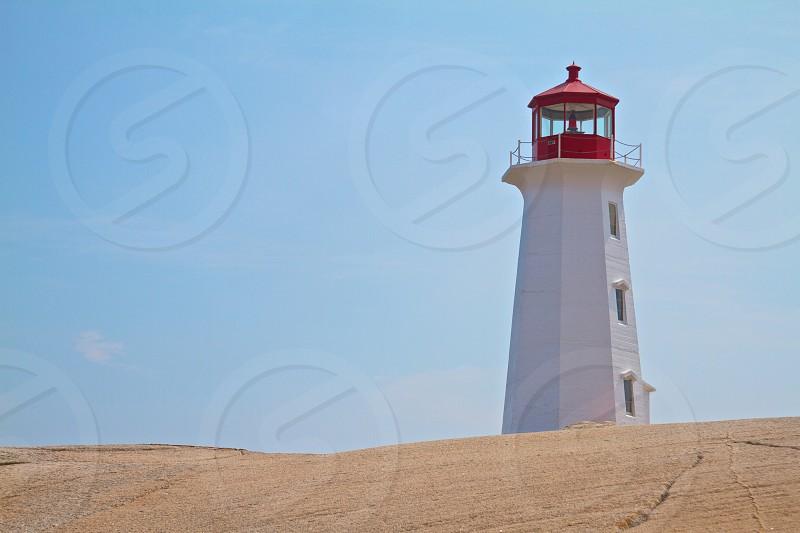 Peggy's Cove lighthouse Nova Scotia photo