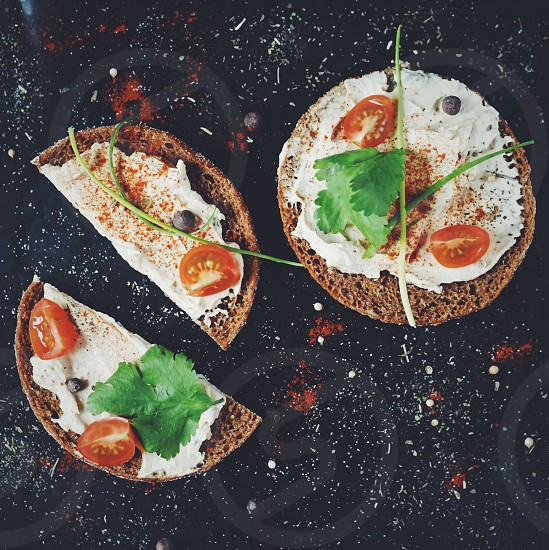 Humus sandwiches spices food foodie delicious cook cooking dinner healthy homemade photo