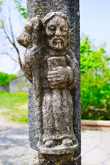 O Cebreiro by the way of Saint James in Galicia Spain photo