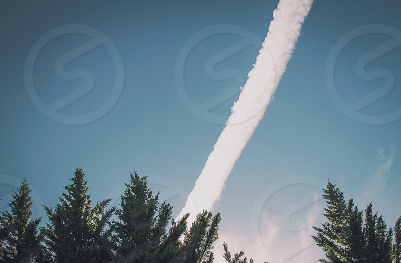 contrail photography  photo
