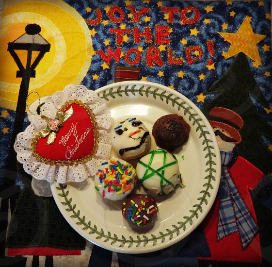Christmas cookies holidays photo