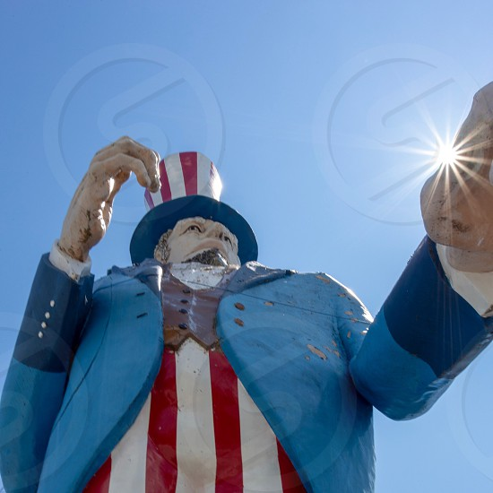 Giant Uncle Sam photo