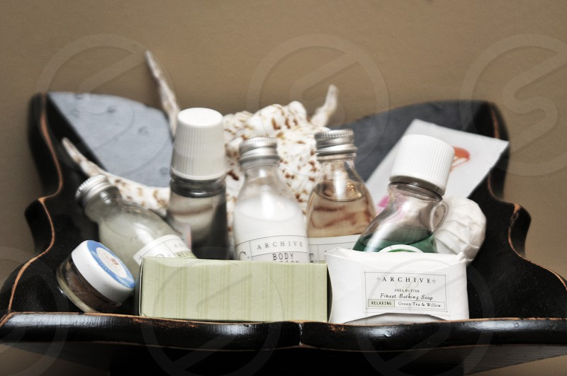 Travel toiletries photo