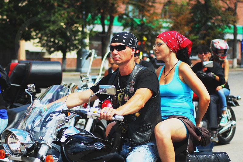 Motorcycles and Bikers photo