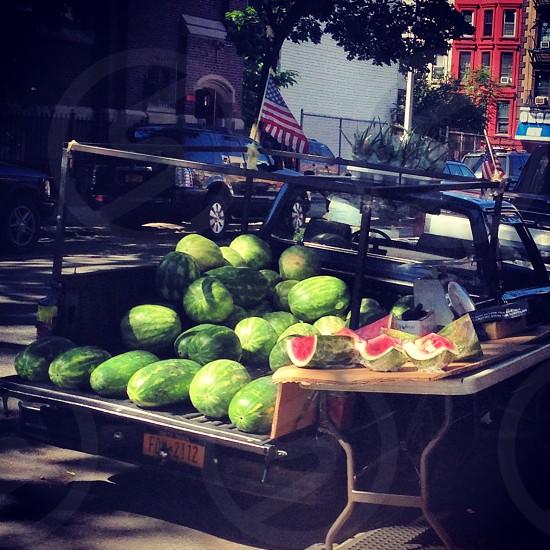 Watermelon in Brooklyn photo