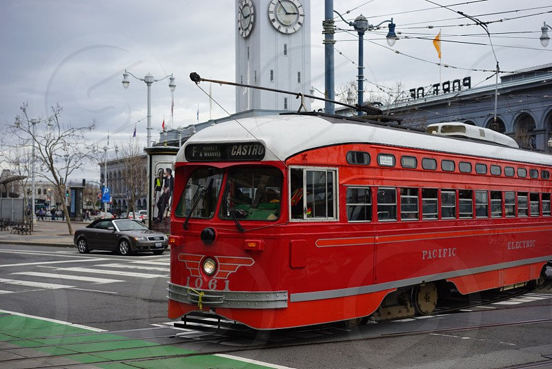 San Francisco street car photo