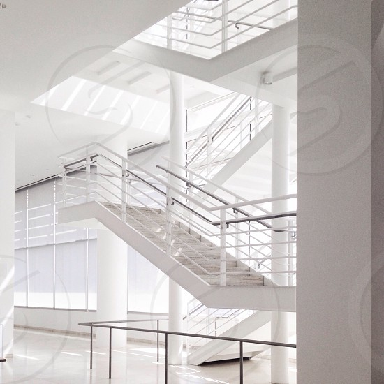 Lines and Light....The Getty Museum LA photo