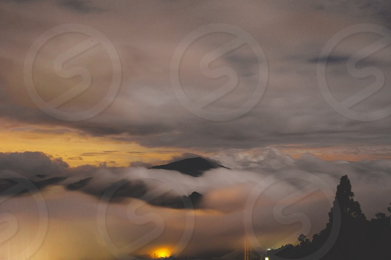 Mountain cloud clouds malaysia genting genting highland highland photo