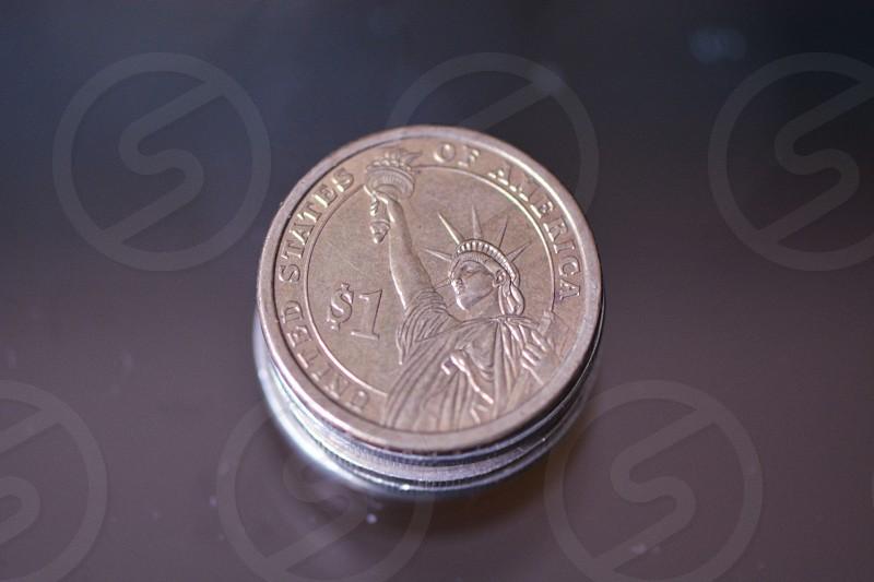 1 dollar coin us photo