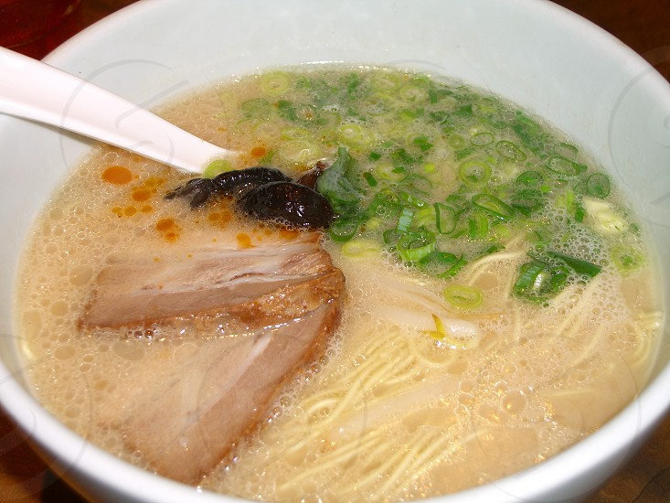Hakata-men;Japanese style ramen  photo