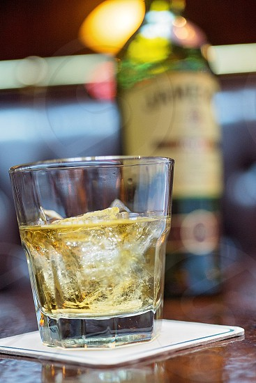 a glass of jameson 12 at O'Sheas downtown Louisville whiskey close up photo