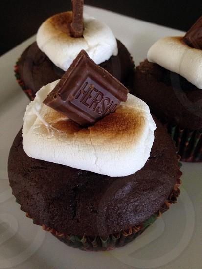 Chocolate S'mores Cupcake photo