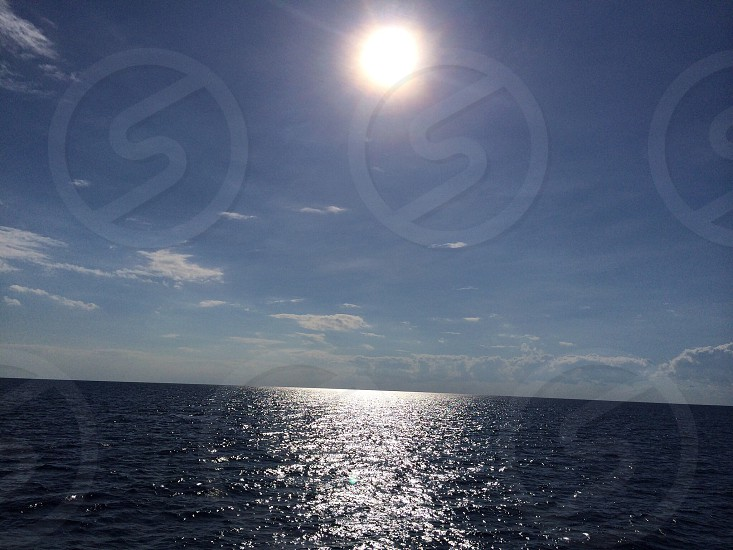 The open sea in the Gulf of Mexico photo