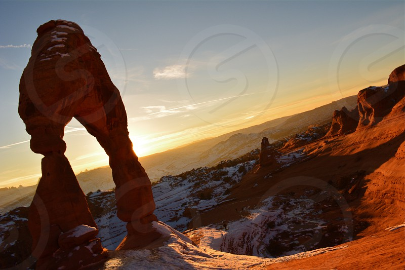 Sunset at Delicate Arch - Arches National Park photo