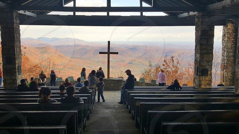 Blue Ridge Mountain Chapel SC. photo